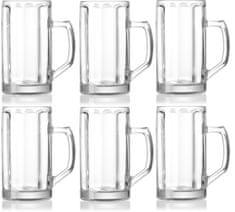 Ritzenhoff&Brecker Brema poháre na pivo 500 ml, 6 ks