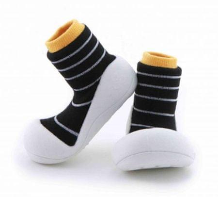 Attipas gyerekcipő Urban Yellow 19 fekete/fehér