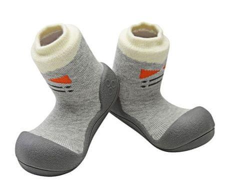 Attipas gyermek cipő Tie Gray 20 szürke
