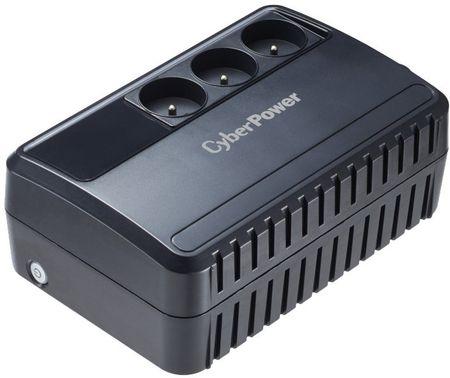 CyberPower zasilacz zapasowy Backup Utility UPS 600VA / 360W - 3 gniazda (BU600E-FR)