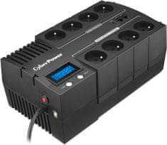 CyberPower zasilacz zapasowy BRICs Series II SOHO 1000VA/600W, 8 gniazd (BR1000ELCD-FR)