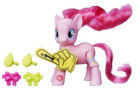 My Little Pony Póni mozgatható végtagokkal és kiegészítőkkel - Pinkie Pie