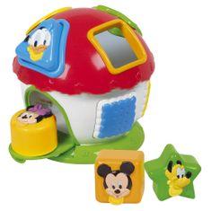 Clementoni Mickey - domček s prestrkávadlom