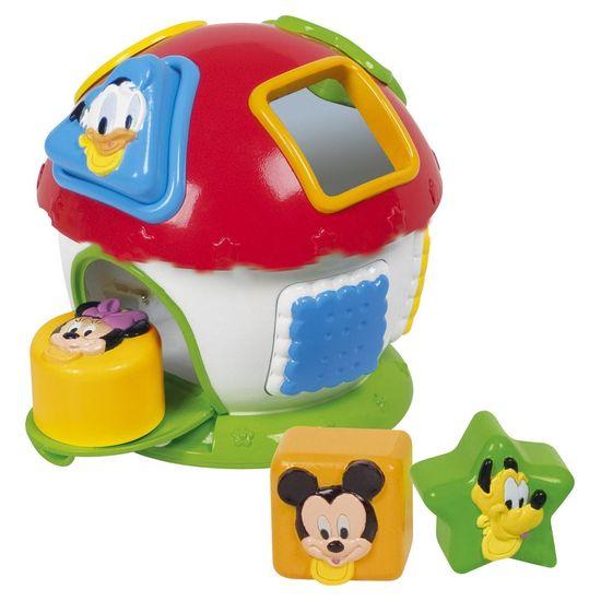 Clementoni Mickey - domeček s prostrkávadlem