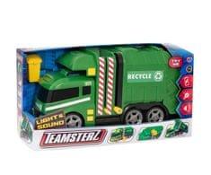 Teamsterz vozilo za pobiranje odpadkov z zvokom in svetlobo, 40 cm