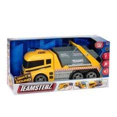 Teamsterz Ciężarówka z pojemnikiem z dźwiękiem i światłem