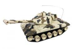 MaDe Irányítható tank szalagokkal 50 cm-es - barna