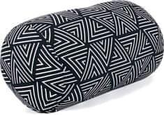 Albi Relaxační polštář ČB geometrický vzor 18x35 cm
