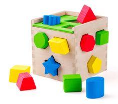 Woody Formaválogató kocka - megújult külső