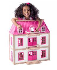 Woody domek dla lalek Willa Wisteria