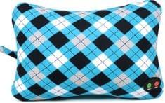 Albi Masážny vankúš škótsky vzor 20x29x15 cm