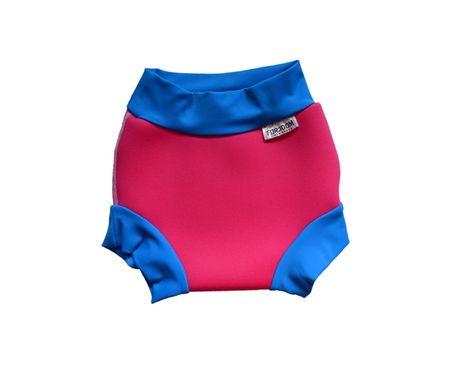 DENA Plenka na plavání neoprenová, růžovo-modrá, růžovo-modrá, XS