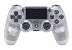 Sony igralni plošček PS4 DualShock 4 V2, prozoren