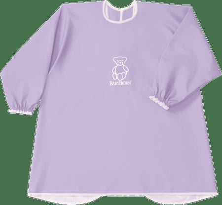 Babybjörn Zástěrka na krmení a hraní, fialová