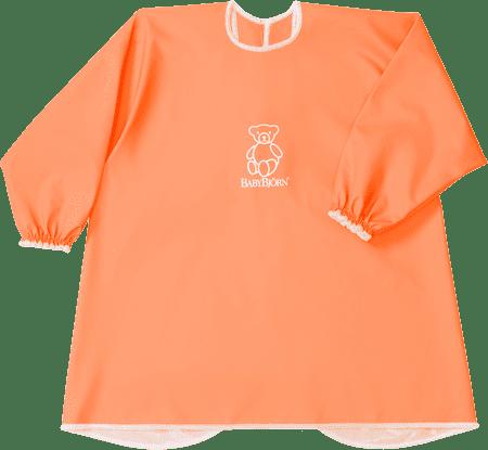 Babybjörn Zástěrka na krmení a hraní, oranžová