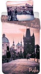 Jerry Fabrics bavlna obliečky Praha Romantique 140x200 70x90