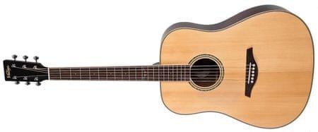 Vintage LV501N Ľavoruká akustická gitara
