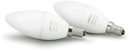 Philips Hue žiarovky 6W B39 E14 EU 2Pack