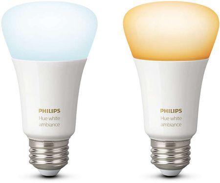 Philips Hue žiarovka white ambiance 9.5W A60 E27 EU 2Pack