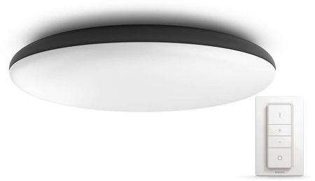 Philips lampa sufitowa Hue Cher 40967/30/P7, czarna + regulator