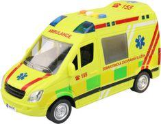 MaDe Ambulance se zvuky a světly