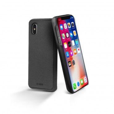 SBS ovitek Dual Case za iPhone X, črn, z magnetom