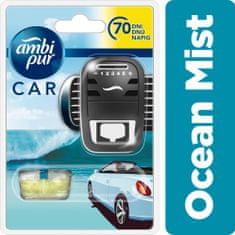 Ambi Pur Car Ocean Mist csíptetős autóillatosító Kezdőcsomag 7 ml