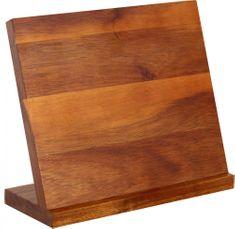 TORO stojak magnetyczny na noże, drewno akacjowe