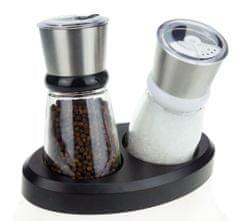 TORO zestaw młynków do soli i pieprzu, 2 szt