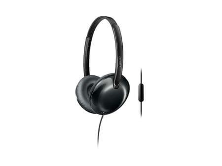 Philips Stereo naglavne slušalke z mikrofonom Flite SHL4405BK