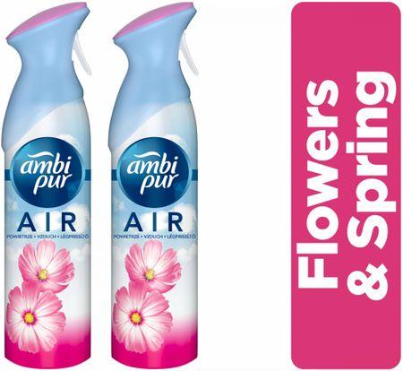 Ambi Pur Flowers&Spring légfrissítő 2x300 ml