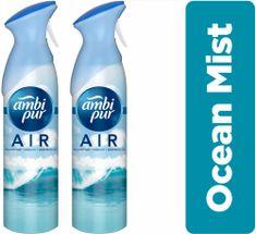 Ambi Pur Spray Ocean Mist 2 x 300 ml