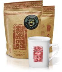 Café Majada De Excelent szemes kávé, ajándékcsomag 950 g + bögre