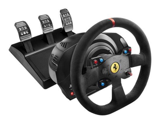 Thrustmaster Sada volantu a pedálů T300 Ferrari 599XX EVO Alcantara (4160652) - rozbaleno