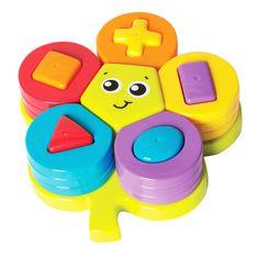 Playgro rožica s sortirnikom kock