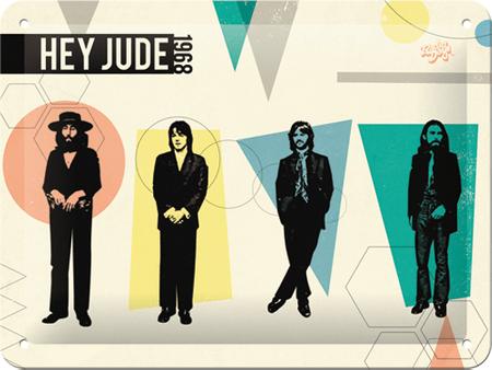 Postershop Tabuľa The Beatles