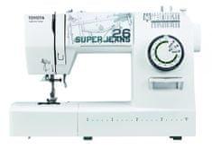 TOYOTA maszyna do szycia Super Jeans J26 White
