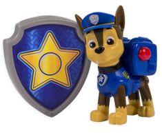 Spin Master Paw Patrol Figurka s akčním batohem Chase