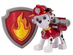 Spin Master Paw Patrol Figurka s akčním batohem Marshall
