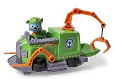 Spin Master Paw Patrol Základní vozidla s figurkou Rocky