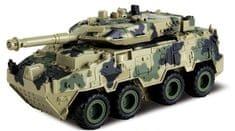 Alltoys Tank 4WD zpětné natahování - světlý