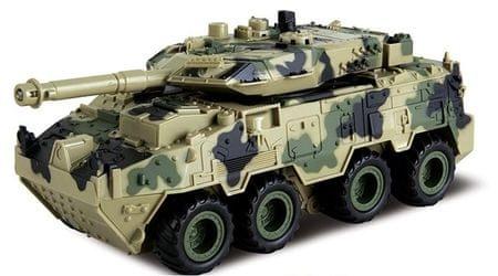 Alltoys 4WD tank hátrafelé felhúzható - világos