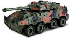 Alltoys Tank 4WD zpětné natahování - tmavý