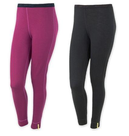 Sensor Merino Wool Active szett női alsónemű fekete + lila XL