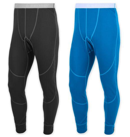 Sensor Merino Wool Active set pánské spodky černá+ modrá L