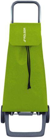 Rolser Nakupovalna torba na kolesih Jet LN Joy, svetlo zelena