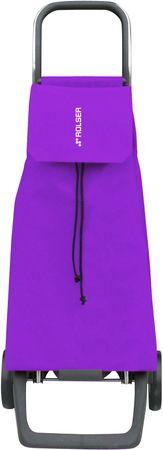 Rolser Nakupovalna torba na kolesih Jet LN Joy, vijolična