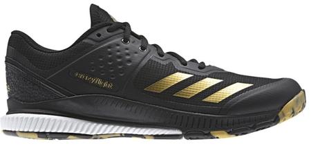 Adidas Crazyflight Bounce Core Black/Gold Met./Ftwr White 41.3