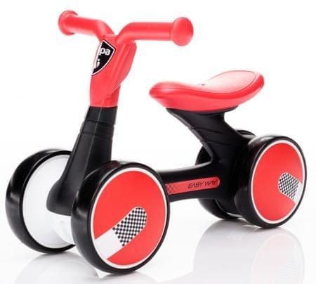 ZOPA Easy-Way pedál nélküli gyerekkerékpár piros
