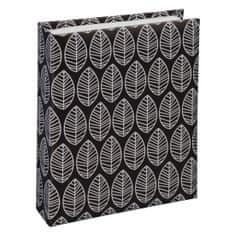 Hama foto album La Fleur, 10 x 15 cm, 40 slik, črn
